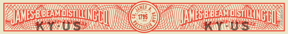 James B. Beam Distillers' Share 01: Toasted Brown Rice - tax strip