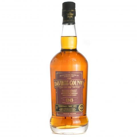 Daviess County Straight Bourbon Whiskey Finished in Cabernet Sauvignon Barrels Bottle