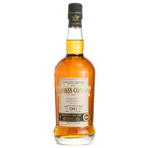 Daviess County Straight Bourbon Whiskey Finished in French Oak Barrels Bottle