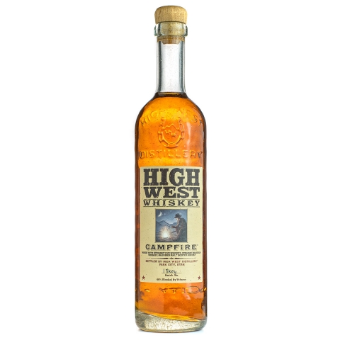 High West Campfire whiskey bottle