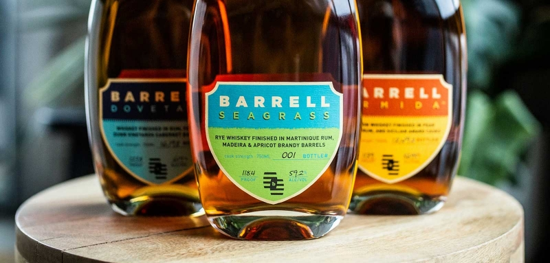 Barrell Seagrass with Barrell Armida and Barrell Dovetail