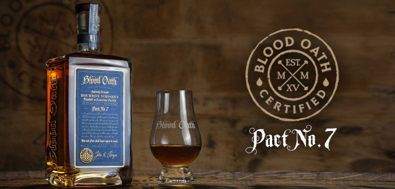 Blood Oath Pact No. 7 finished in Sauternes casks