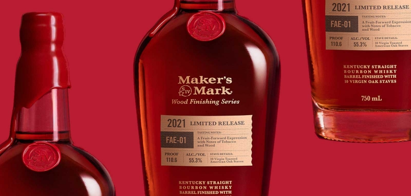 Maker's Mark Wood Limited Release Finishing Series 2021 FAE-01