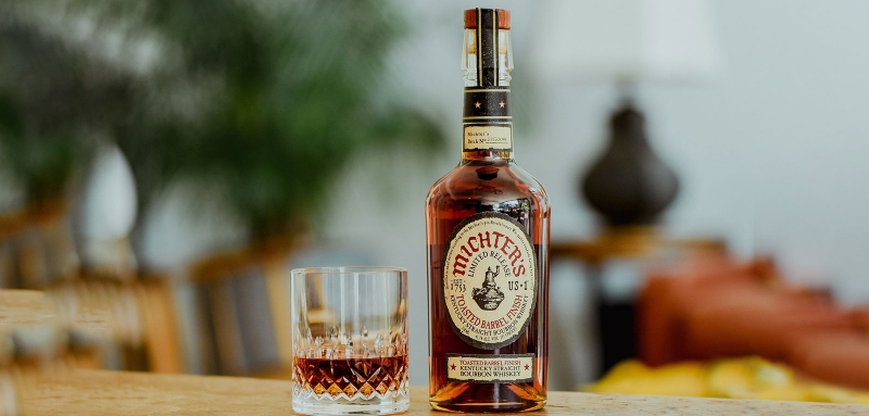 Michter's 2021 edition Toasted Barrel Finish Bourbon