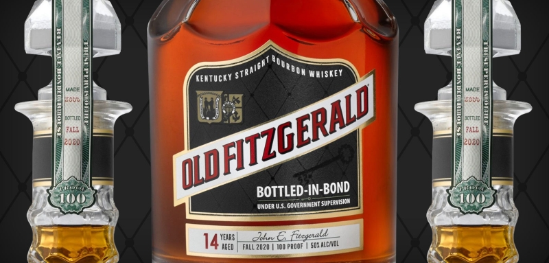 Old Fitzgerald Fall 2020 14 Year Old Bottled in Bond Bourbon