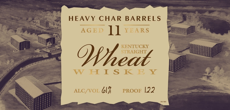 Parker's Heritage 15th Edition Heavy Char Wheat Whiskey