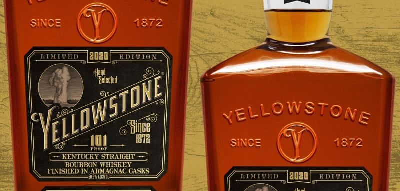Yellowstone 2020 Limited Edition Bottle