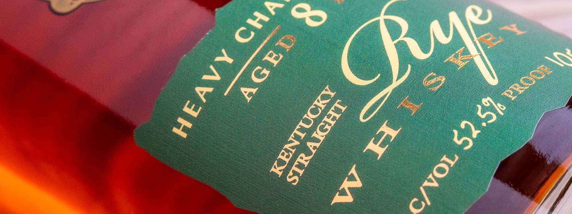 Parker's Heritage Collection: Heavy Char Barrels Straight Rye banner