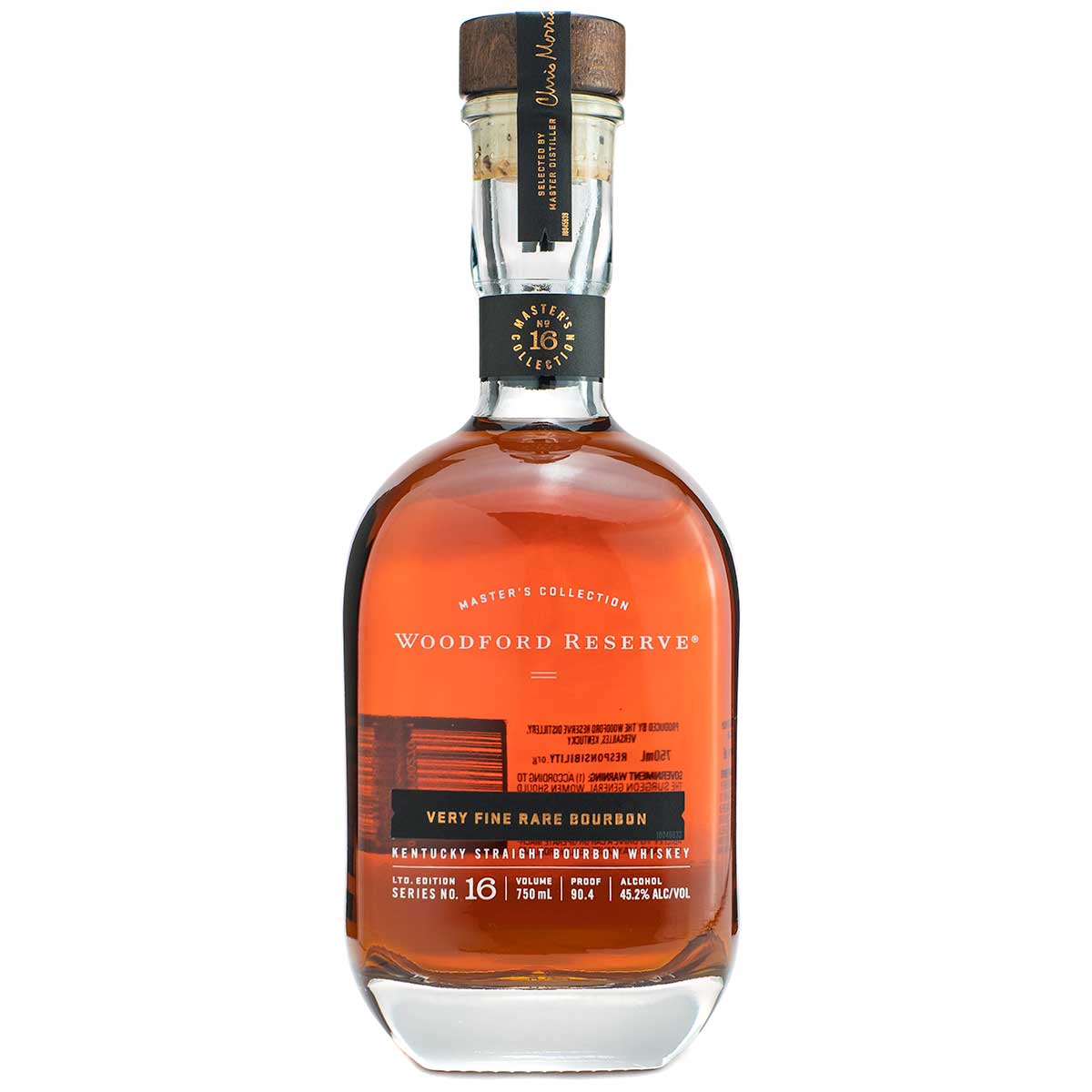 Woodford Reserve Master's Collection Very Fine Rare Bourbon bottle